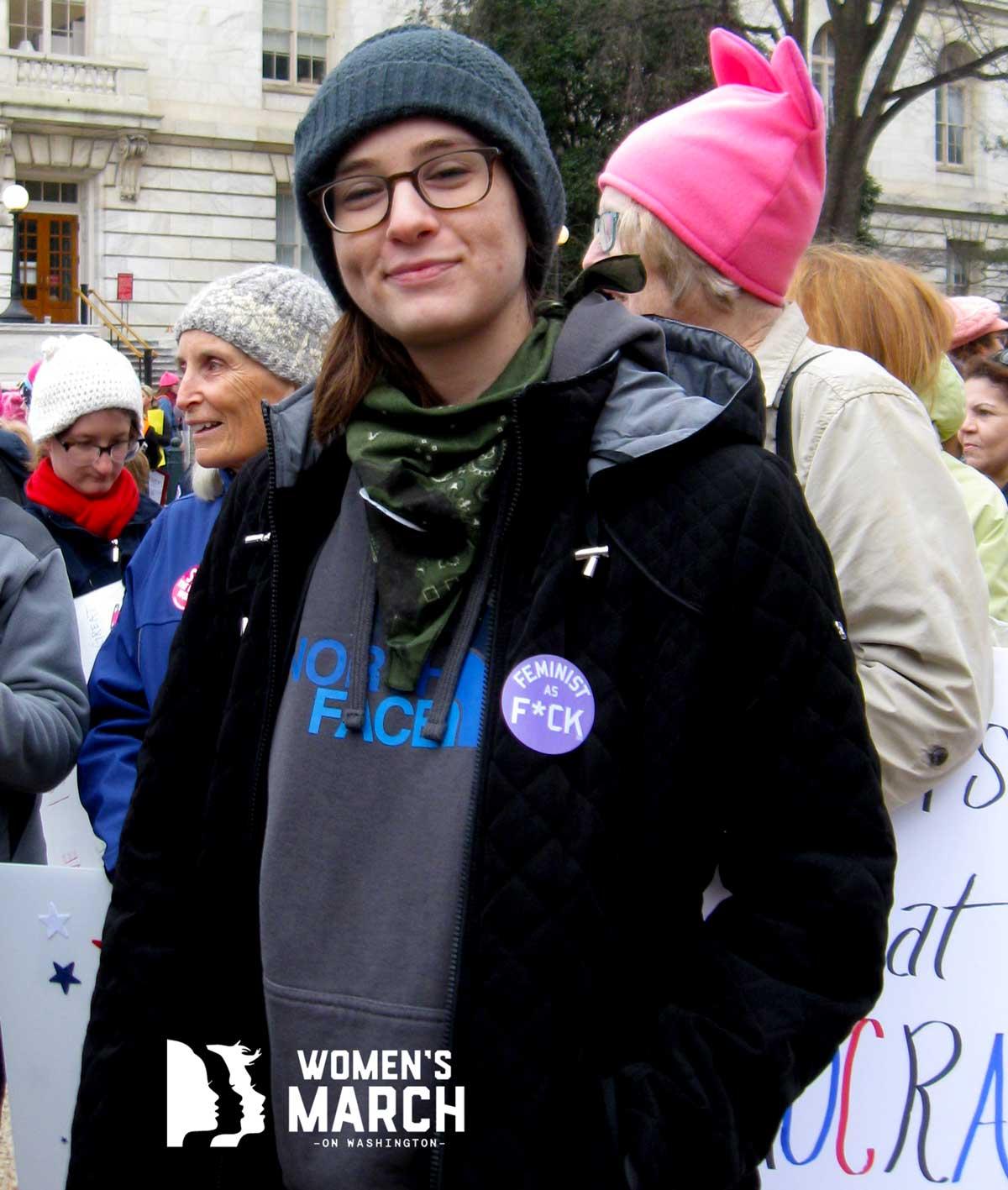 """Feminist as f*ck"""