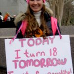 """Today, I turn 18. Tomorrow, I vote for equality!"""