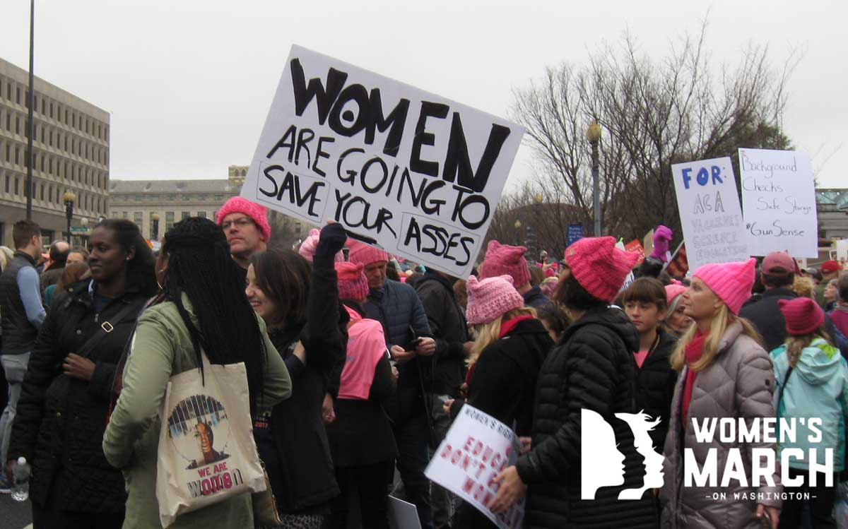 """Women are going to save your asses."""