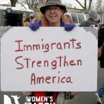 """Immigrants strengthen America."""