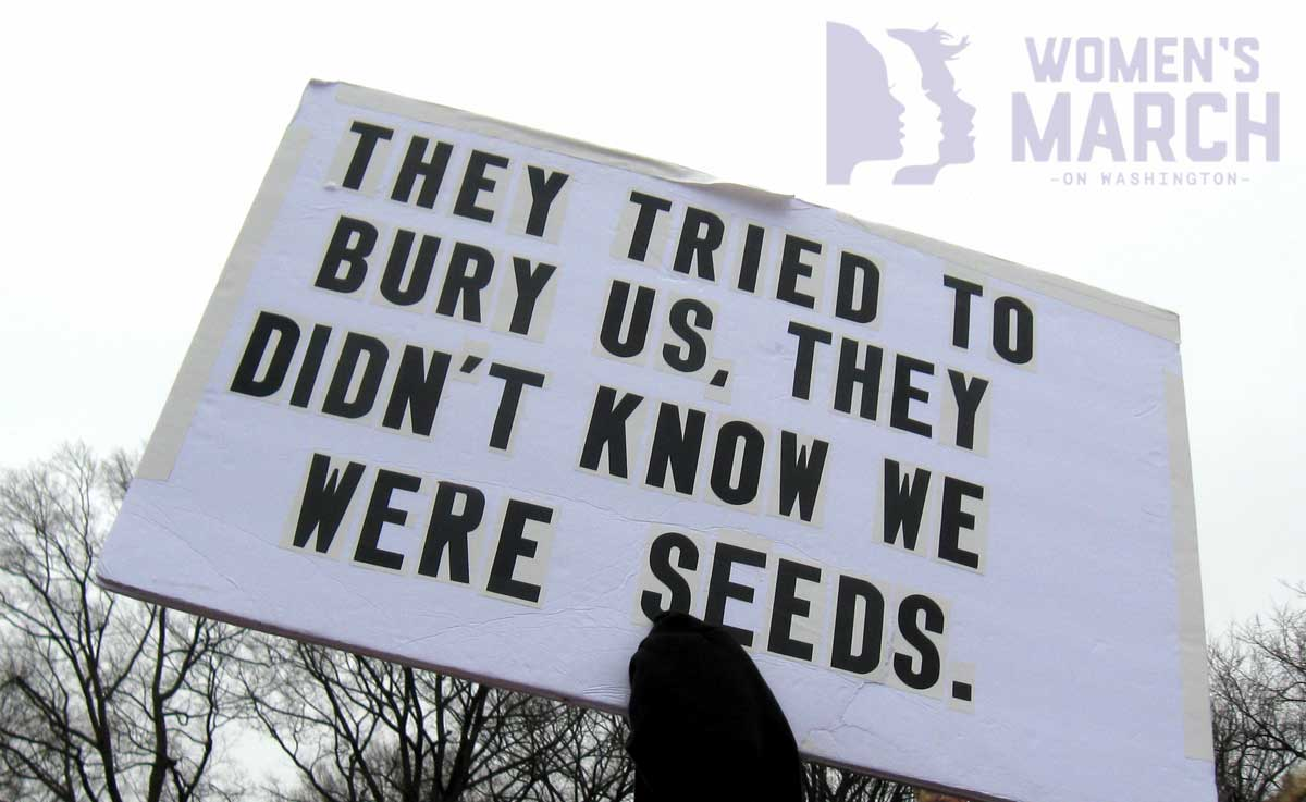 """They tried to bury us. They didn't know we were seeds."""