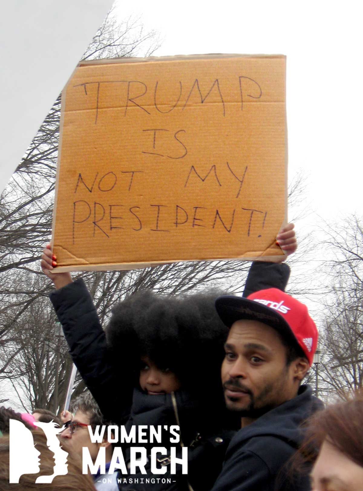 """""""Trump is not my president"""""""