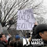 """A woman's place is in the revolution."""