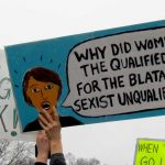 """Why did women reject the qualified woman for the blatantly sexist unqualified man?"""
