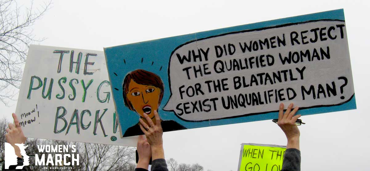 """""""Why did women reject the qualified woman for the blatantly sexist unqualified man?"""""""