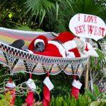 Santa in a hammock