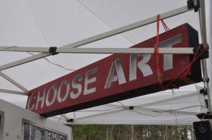Choose ART sign