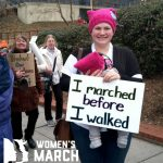"""I marched before I walked."""