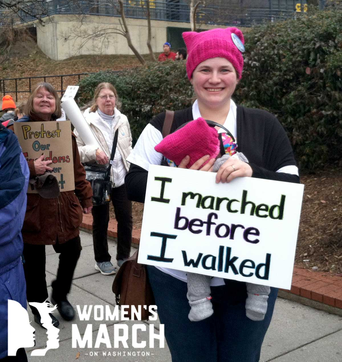 """""""I marched before I walked."""""""