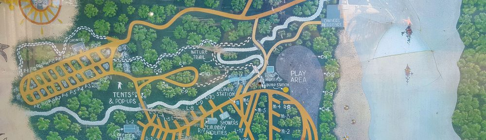 Map of Perk Beach RV Park