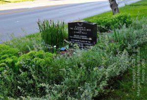 Memory Lane marker