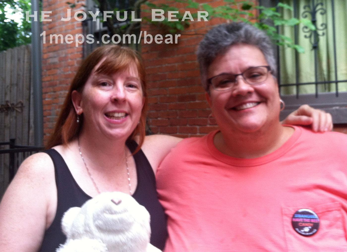 Frank Lloyd Bear, Meps, and Mollie
