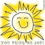 You bring me joy!