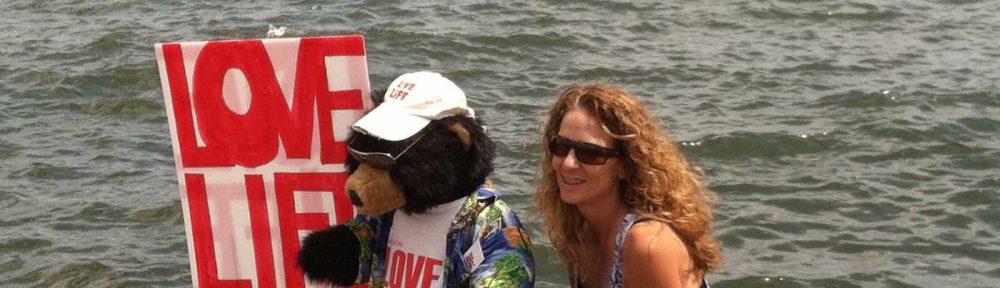 Sonya with Love Live bear