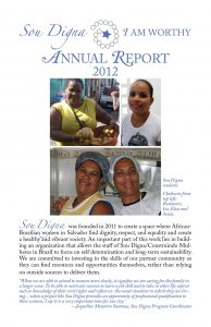 Sou Digna 2012 annual report
