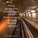 Where are you going, with image of underground railway